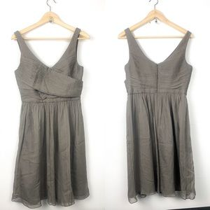 J crew new 100% silk dress size 8